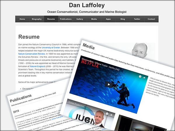 Dan Laffoley Website